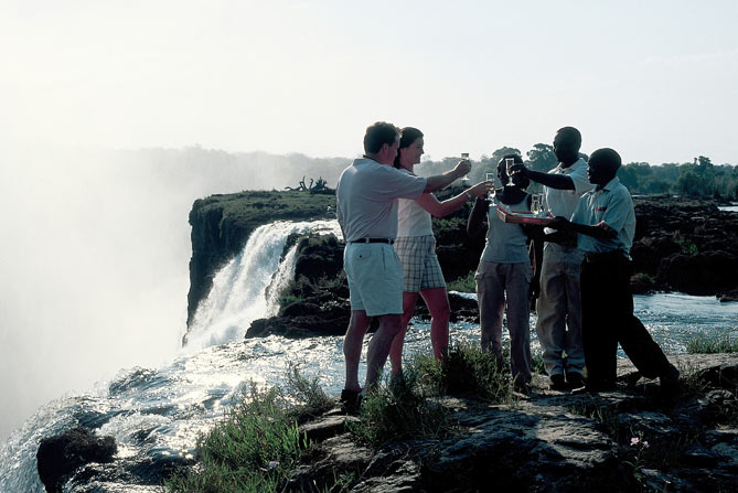 Livingstone Island, Victoria Falls