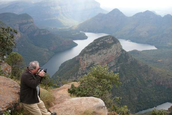 The Blyde River Canyon, the third largest canyon on earth