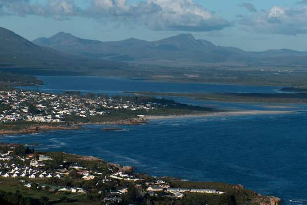 The resort town of Hermanus on the Indian Ocean