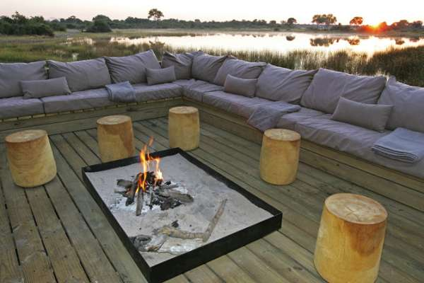 Vumbura Plains Camp in the Okavango Delta