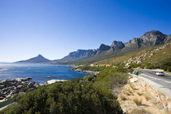 A view of the Twelve Apostles and Lions Head