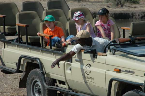 Family game drive KNP