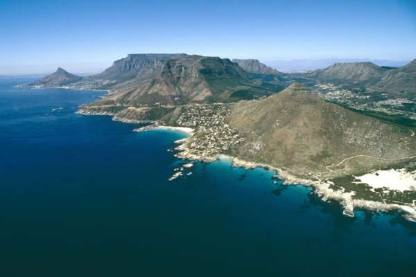 The magnificent scenery of the Cape Peninsula
