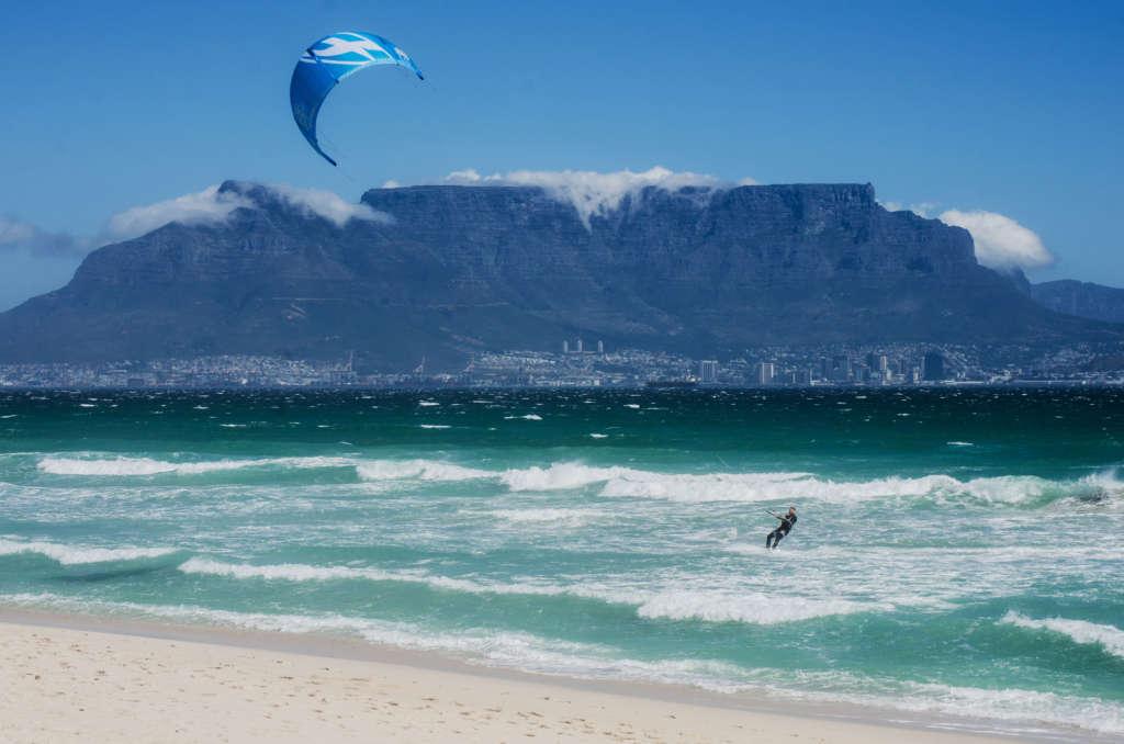 Kite Surfing at Blouberg