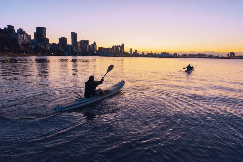 Kayaking Durban