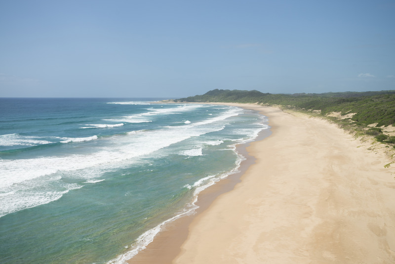 Rocktail Beach in KZN, South Africa