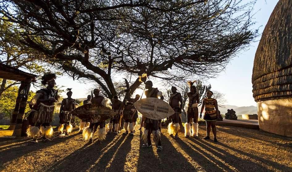 Zulu dancers, KZN, South Africa