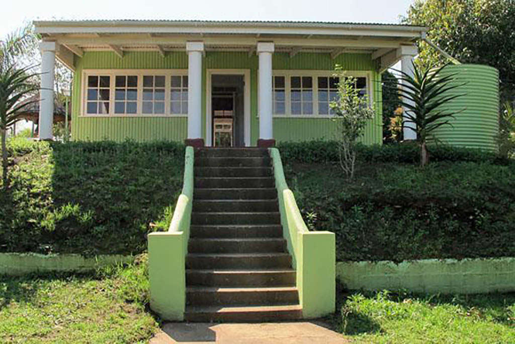Mahatma Gandhi's house in Durban, South Africa